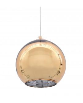 NOWOCZESNA LAMPA WISZĄCA ZŁOTA LOBOS D30 LUMINA DECO