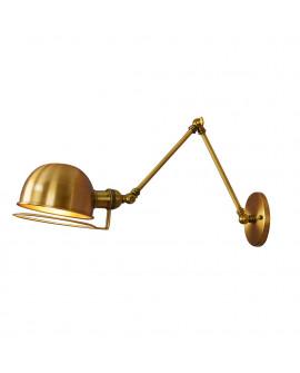 LAMPA ŚCIENNA KINKIET LOFTOWY MOSIĘŻNY GLUM W2 LUMINA DECO