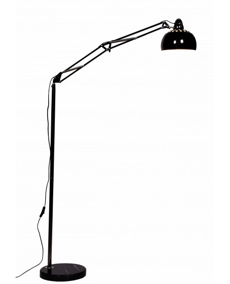 LAMPA STOJĄCA PODŁOGOWA GRAFITOWA RIGORRIA