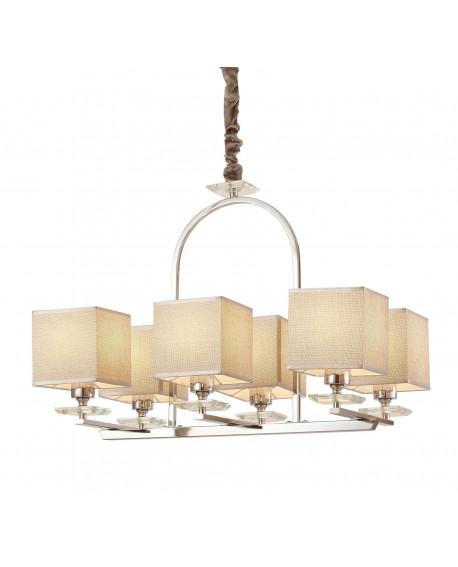 LAMPA WISZĄCA CHROMOWANA LINIANO W6