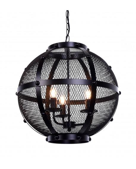 LAMPA WISZĄCA CZARNA CAVARO W3