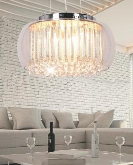 LAMPA WISZĄCA NOWOCZESNA GUSTO D50 CLEAR LUMINA DECO