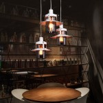 POTRÓJNA LAMPA WISZĄCA INDUSTRIALNA LOFT BIAŁA CAPRI W3