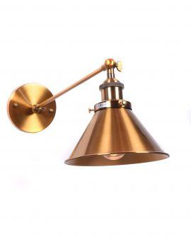 LAMPA ŚCIENNA KINKIET LOFTOWY MOSIĘŻNY GUBI WT LUMINA DECO