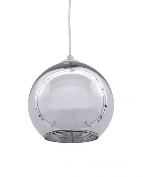 NOWOCZESNA LAMPA WISZĄCA CHROMOWANA LOBOS D20