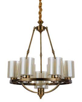 LAMPA WISZĄCA LOFT MOSIĘŻNA SANTINI W7 LUMINA DECO