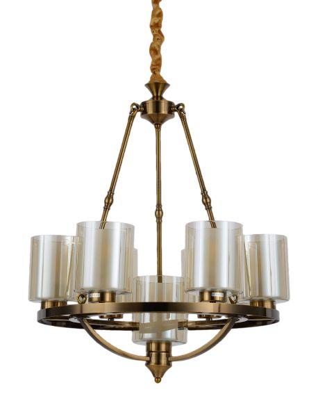 LAMPA WISZĄCA LOFT MOSIĘŻNA SANTINI W7