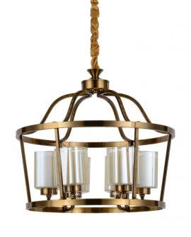 LAMPA WISZĄCA LOFT MOSIĘŻNA ATLANTA W6 LUMINA DECO