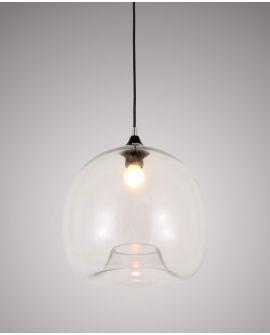 NOWOCZESNA LAMPA WISZĄCA SKANDYNAWSKA CESIO CLEAR LUMINA DECO