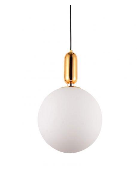 NOWOCZESNA LAMPA WISZĄCA ZŁOTA ORITO D30