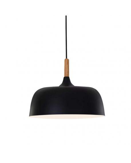 NOWOCZESNA LAMPA WISZĄCA CZARNA BERSI D32