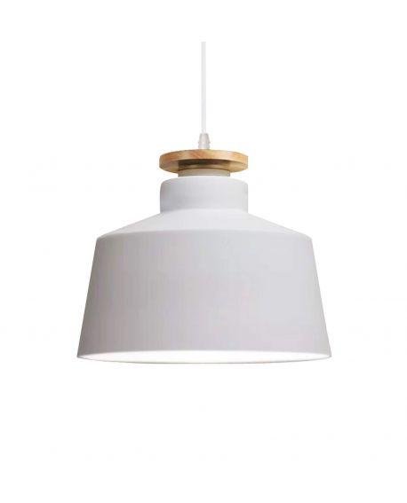 NOWOCZESNA LAMPA WISZĄCA BIAŁA LEVANTI D30