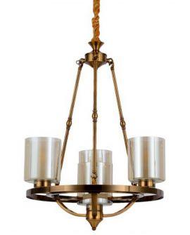 LAMPA WISZĄCA LOFT MOSIĘŻNA SANTINI W4 LUMINA DECO
