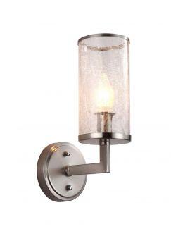 LAMPA ŚCIENNA KINKIET SATYNOWY HOWARD W1 LUMINA DECO