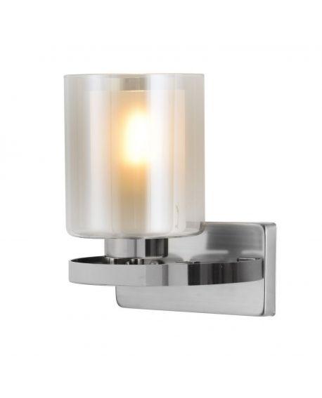 LAMPA ŚCIENNA KINKIET LOFT CHROMOWANY SANTINI W1 LUMINA DECO