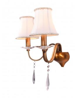 LAMPA ŚCIENNA KINKIET KRYSZTAŁOWY RIFOSSA W2 LUMINA DECO