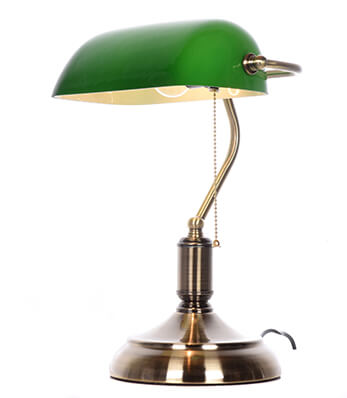 Lampa bankierska BANKER Lumina Deco