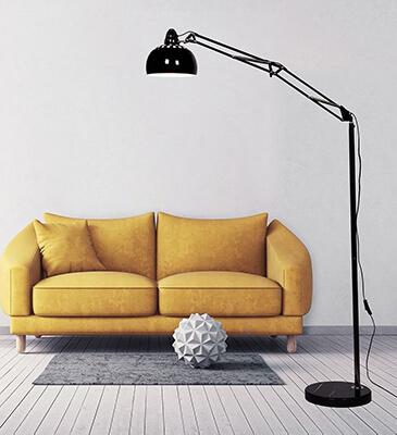 Lampa podłogowa RIGORRIA Lumina Deco